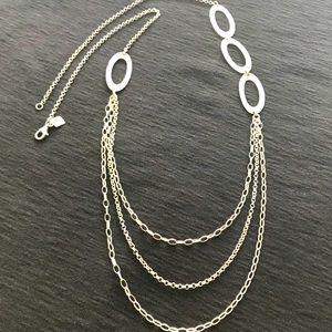 Silpada N1720 .925 Retired Multi Strand necklace